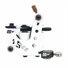 Micky Bee Professional Tattoo Machine Coil White Sting Liner 10 Wrap