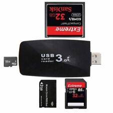 USB 3.0 All in1 Flash Memory Card Reader Adapter for SD SDHC MMC Micro TF C