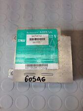 FIAT PUNTO (1999-2003) 1.2 BENZINA 44KW 3P CENTRALINA AIRBAG 46758762