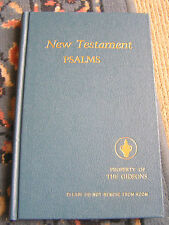 New testament Psalms. 1986 Edition Still New Never Used