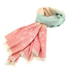 Ladies Thai Silk Scarf Wrap | Floral Print Design | Oversized | Holley Day