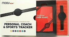 Waterproof MOOV NOW Personal Coach Sports Tracker / Audio Workout Coach - Black