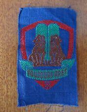 """Insigne en tissu scout EIF """"Lions de Juda"""""""
