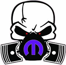 """Skull Mask Mopar Purple Large Decal 12"""" in size Free Shipping"""