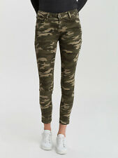 Cross - Jeans Giselle Super Skinny Fit Mid waist Camouflage Ankle lenght - Damen