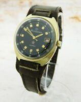 Vintage USSR Russian Soviet Mechanical Gilt Wrist Watch Vostok Komandirskie #10