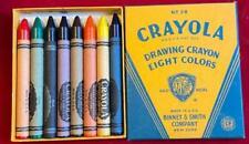 vintage 1940s Crayola Crayons Binney & Smith No. 38 Jumbo Kindergarten 8