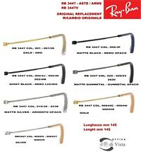 Aste Ricambio Replacement Arms Ray Ban RB 3447 - 3447V - 3447N -  ROUND METAL