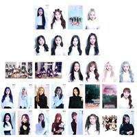 30Pcs/set KPOP LOONA Album Butterfly Photo Card Poster Lomo Card PhotoCard Handy