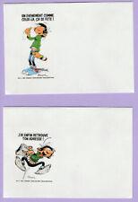 Lot de 12 enveloppes différentes de Gaston LAGAFFE  Editions DALIX édité en 1990