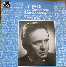 ADOLF BUSCH - MARCEL MOYSE / BACH brandenburg conc. / EMI ref.