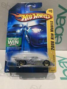 Hot Wheels - Ferrari 512M Racer [SILVER] 2006 NEW MODELS SEALED UNOPENED VHTF !!