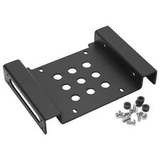 "Aluminum 5.25""to 2.5""/3.5"" Hard Disk Drive Holder HDD SSD Mounting Bracket Kit"