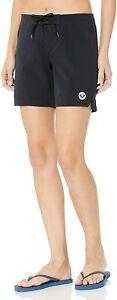 "Roxy Women's ""To Dye"" 7"" Board Shorts, Black NWT XL"