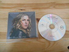 CD Jazz Diana Krall - Don't Dream It's Over (1 Song) Promo VERVE REC