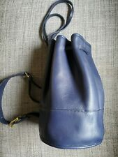 Vintage Coach Bixby Sling 9984 in rare Blue