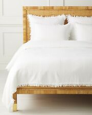 Serena and Lily Whitby Coverlet Full/Queen White Nwt $298