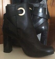 Next Women's 100% Leather Block High Heel (3-4.5 in.) Boots