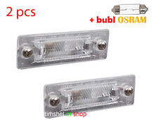 2 pcs VW CADDY PASSAT VAN MK3 T5 TRANSPORTER NUMBER PLATE LAMP LIGHT 3B5943021E