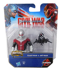Marvel Captain America Civil War Giant-Man & Ant-Man Figurine Avengers Hasbro