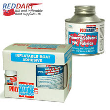 PVC Adhesive, 2 Part, 250ML, Solvent Cleaner 250ml, inflatable boat repair kit