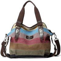 Hot Canvas Bag Shoulder Bag Tote Purse Crossbody Messenger Satchel Women Handbag