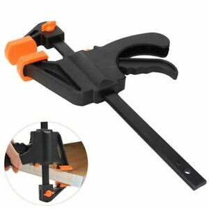 """Small Mini Quick Speed G Clamp Clip Holder Model Craft Making Woodwork - 4"""""""