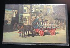 Vintage Old Milwaukee Beer Wagon Postcard