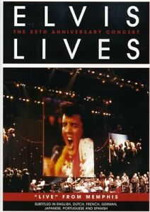 ELVIS LIVES: THE 25TH ANNIVERSARY CONCERT NEW DVD