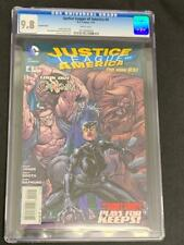JUSTICE LEAGUE OF AMERICA #4, Variant, (2013) CGC 9.8, DC Comics, White Pages