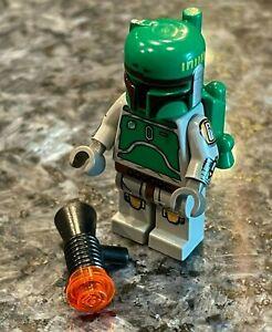 LEGO - Star Wars - Cloud City BOBA FETT - Authentic 10123 (Left Arm Cracked)