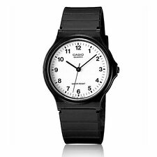 Casio Classic Mens Ladies Casual Style Splash-Proof Black Wrist Watch MQ24-7BLL