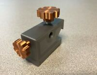 Logan 10, 11 and 12 metal lathe carriage dial indicator holder STOP!