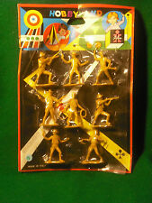 Soldatini Toy Soldiers Dulcop Italy Cowboys plastica scala 1:32 cm 6,5 blister