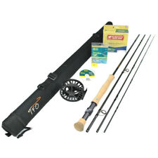 """Tfo Pro Ii 10wt 9'0"""" Fly Rod Outfit : Tf 10 90 4 P2"""