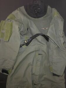 Mustang Survival Corp. Tactical Aircrew Dry Suit MSF300 Green Medium