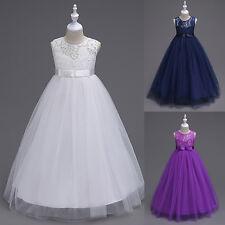 demoiselle d'honneur princesse enfants Fête d'Anniversire habillé robe
