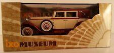 IXO Museum Isotta Fraschini Tipo 8 1930 1/43 Creme & Maroon MUS008