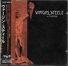 Virgin Steele Invictus japón CD w/Obi/Manowar Jack Starr Exorcist Burning Starr