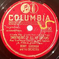 Benny Goodman: Sweetheart Of All My Dreams / Every Time: Columbia 1945 (Jazz)