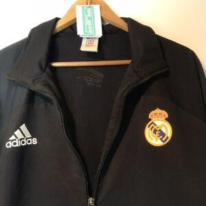 Adidas Real Madrid jacket Vintage Clothing Full Zip Limited Edition