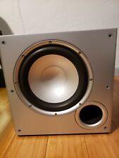 "New listing Polk Audio Psw10 Black 10"" Monitor Powered Subwoofer"