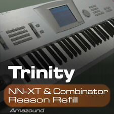 KORG TRINITY REASON REFILL 256 COMBINATOR & NNXT PATCHES 2523 SAMPLES 24BIT HQ