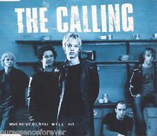 THE CALLING - Wherever You Will Go (UK 4 Trk Enh CD Single) (Ex)
