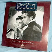 LD laserdisc KORDA Vivien Leigh/Laurence Olivier FIRE OVER ENGLAND w/insert