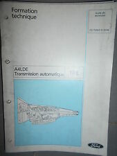 Ford : documentation atelier boite transmission automatique A4LDE - CG7539