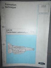 Ford : documentation atelier boite transmission automatique A4LDE - CG7539