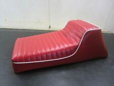 *1972  POLARIS ATX 335 *RED* VINTAGE SNOWMOBILE SEAT COVER NEW!*