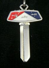 FORD GALAXIE CREST KEY BLANK fits 1965-1990's LTD Torino Ranchero Mustang NOS