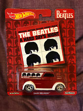 2017 HOT WHEELS THE BEATLES POP CULTURE DAIRY DELIVERY A HARD DAYS NIGHT